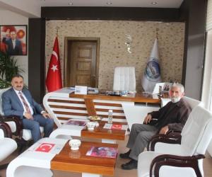 15 Temmuz şehidinin babasından Başkan Cabbar'a ziyaret