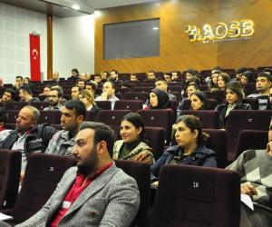 AOSB Akademi'de 2018'in ilk dersi
