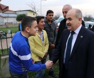 Vali Zülkif Dağlı'dan Roman vatandaşlara müjde