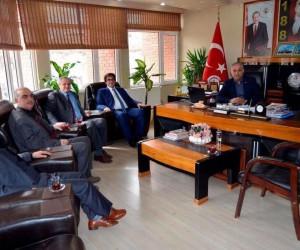 İstanbul Bilecikliler Derneği'nden Başkan Yaman'a ziyaret