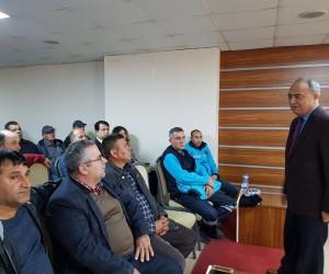 İş sağlığı ve eğitimi Akhisar'da da verildi