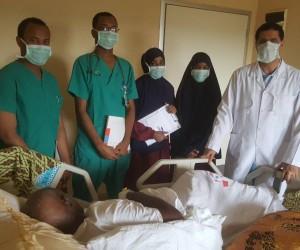 Türk doktorlardan Somali'deki doktorlara eğitim