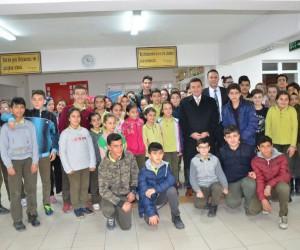 Bozüyük'te okul ziyaretleri sürüyor