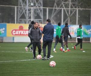 Metin Diyadin, Giresunspor'la ilk idmanına çıktı