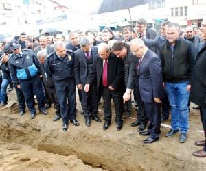 Salihli'de doğalgaz altyapı çalışmaları başladı