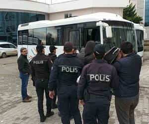 Samsun'da yasa dışı bahis operasyonunda 9 tutuklama