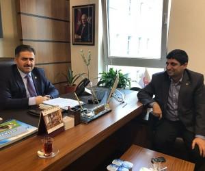 AGAD Başkanı Aslan ile Milletvekili Fırat bir araya geldi