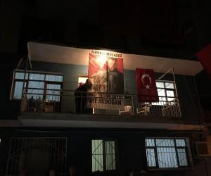 Bakan Yılmaz ile Kaya'dan Afrin şehidinin ailesine ziyaret