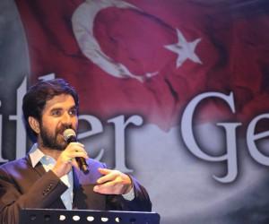 Serdar Tuncer, Eskişehir TÜGVA'nın 'Şehitler Gecesi'ne katıldı