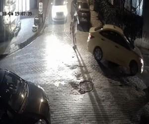 (Özel) İstanbul'da anne ve bebeğin ölümden döndüğü kaza kamerada