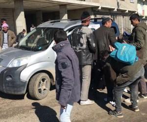 Erzurum'da 121 kaçak göçmen yakalandı