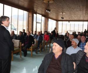 Boya Ustalarıyla Cağ kebaplı tanışma toplantısı yapıldı