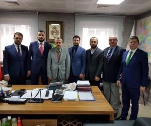 MÜSİAD'dan belediye başkan yardımcılarına ziyaret