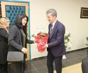 Turgutlu'nun tek kadın oda başkanından Başkan Şirin'e ziyaret