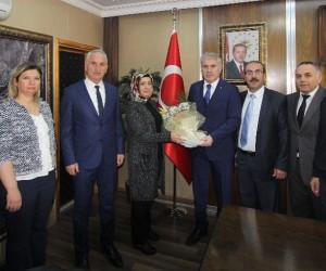 AFAD heyetinden Başkan Memiş'e ziyaret