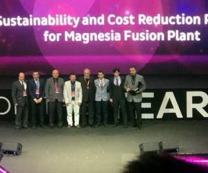KÜMAŞ'ta Nuri Sarıoğlu ve ekibine birincilik ödülü