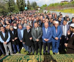 Başkan Tuna'nın kayınvalidesi son yolculuğuna dualarla uğurlandı