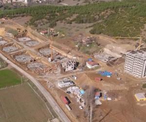 Niksar'da 4. Etap TOKİ konutlarının yapımı devam ediyor
