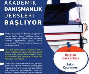 """Hakkari Üniversitesinden '""""Yüz Yüze Akademik Danışmanlık"""" dersi"""