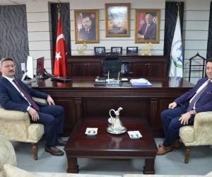 Bozüyük Cumhuriyet Başsavcısı Bıçakçı Başkan Bakıcı'yı ziyaret etti