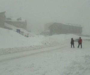 Uludağ'da kar kalınlığı 171 santim