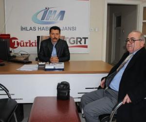 Erbakan Vakfı Bölge Başkanı Uyar'dan İHA'ya ziyaret
