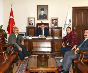 Afrin gazisi Vali Kalkancı'yla bir araya geldi