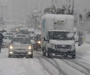 İnegöllüler dikkat! Meteoroloji'den kar uyarısı