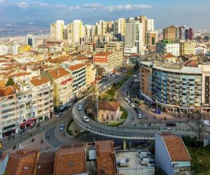 İnegöl, Bursa'da ilk 3'ün içine girdi