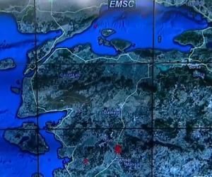 Canlı yayında İnegöl'deki deprem fay hattını konuştu
