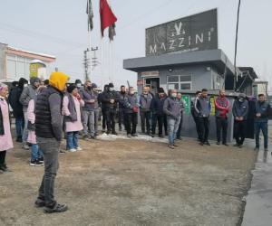 Patlamanın olduğu fabrika yönetiminden açıklama