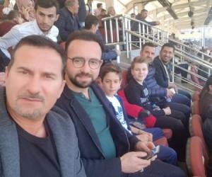 Ergün Penbe İnegölspor maçını takip etti