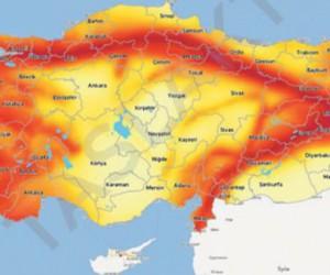 Tek tıkla deprem haritası sorgulama başladı
