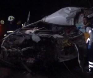 Bursa'da feci kaza, 1 Ölü 1 Yaralı