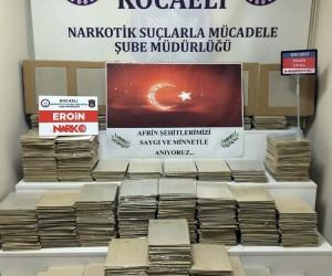 Kocaeli'de son 1 aylık uyuşturucu bilançosu