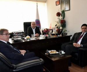 Başkan Serkan Acar'dan Esnaf Odasına ziyaret