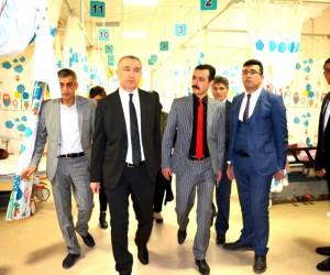 Sağlık Müdürü Erol, Hastanede incelemelerde bulundu