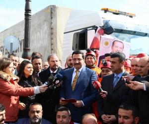 Keçiören Belediyesinden Afrin'in inşası için ilk adım