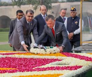 Ürdün Kralı Yeni Delhi'de: