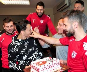 Samsunsporlu futbolcular ilerisi için umut saçtı