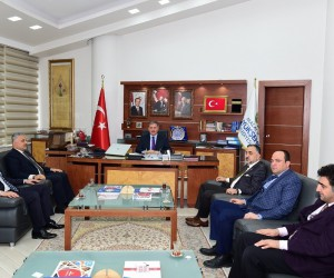 Başkan Çakır muhasebecileri ağırladı