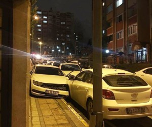 (Özel Haber) Başakşehir'de hırsızlar yaşanan kovalamaca ile yakalandı
