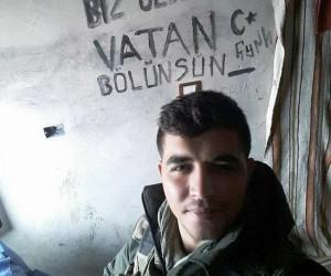Şehit askerden son fotoğrafında anlamlı mesaj