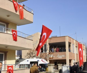 Afrin şehidinin acı haberi Hatay'daki ailesine verildi