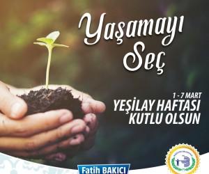 Bozüyük Belediye Başkanı Fatih Bakıcı, Yeşilay Haftasını kutladı