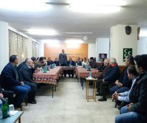 Simav AK Parti'den MHP'ye ziyaret