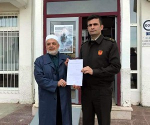 Emekli Vaiz Ali Ramazan Dinç Gönüllü Askerliğe Başvurdu