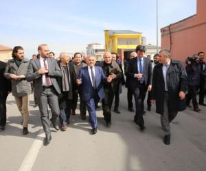 Başkan Büyükkılıç Demirciler Sitesi'nde