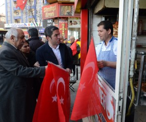 CHP'den bayrak kampanyası