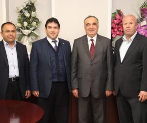 Başkan Sağır'dan Vergi Dairesi Müdürü Bayar'a ziyaret